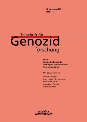 Zeitschrift für Genozidforschung: Strategien, Interventionen, Repräsentationen