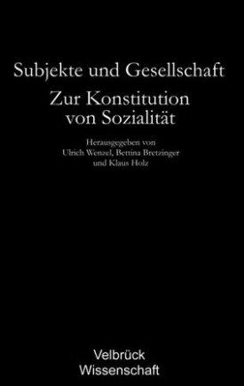 Subjekte und Gesellschaft - Studienausgabe