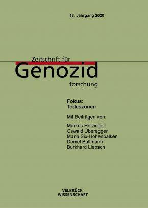 Zeitschrift für Genozidforschung: Todeszonen