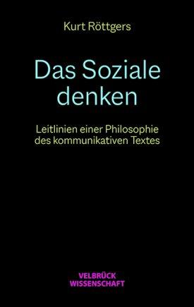 Das Soziale denken